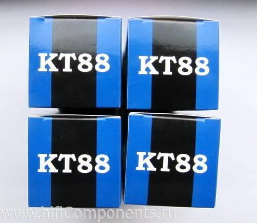 Радиолампы KT88 Mullard, купить KT88 подобранный квартет, пара