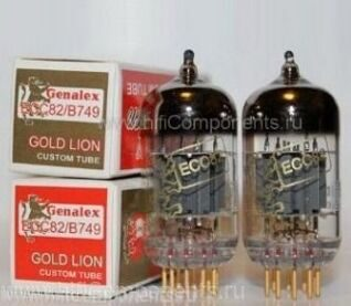 ECC82 Genalex Gold Lion