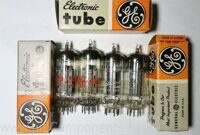 12BH7A  General Electric, RCA, NOS