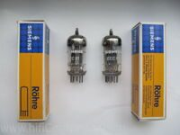 ECC81\12AT7 Siemens, NOS, NIB