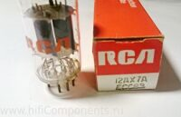 12AX, ECC83 RCA made in Gt. Britain