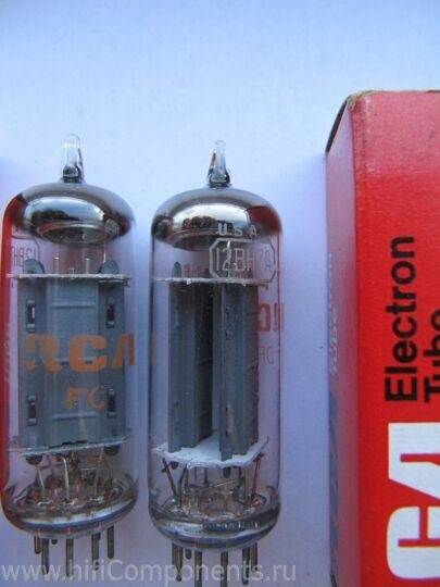 12BH7A  General Electric и RCA